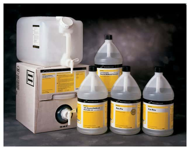 the use of formalin based fixatives in During embedding, a white deposit is noted on several of tissues the tissues had been fixed in zinc-formalin, transferred to phosphate-buffered formalin, dehydrated with 65%, 95%, and absolute alcohols, and cleared with xylene.