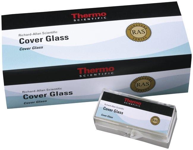 EprediaRichard-Allan Scientific Cover Glass, Thickness No. 1, 22 x 22mm:Histology
