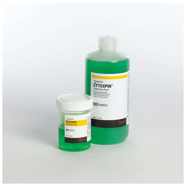Thermo Scientific™Shandon™ Cytospin™ Collection Fluid: Colorantes para hematología, histología y citología Pruebas de hematología y coagulación