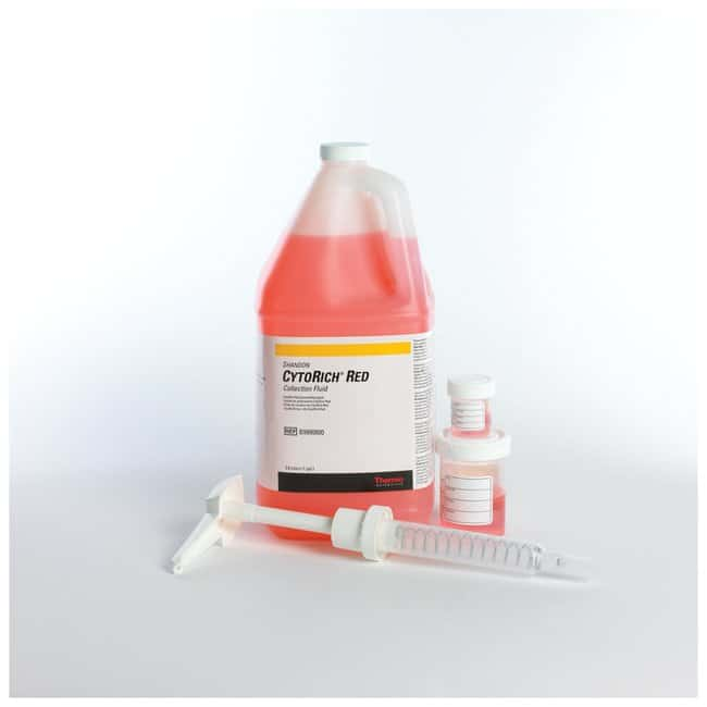 Thermo Scientific™ Shandon™ CytoRich™ Red Collection Fluid: Colorantes para hematología, histología y citología Pruebas de hematología y coagulación