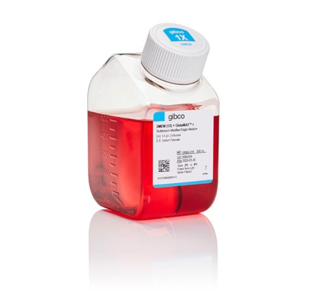 Gibco DMEM, high glucose, GlutaMAX Supplement    500mL:Cell Culture