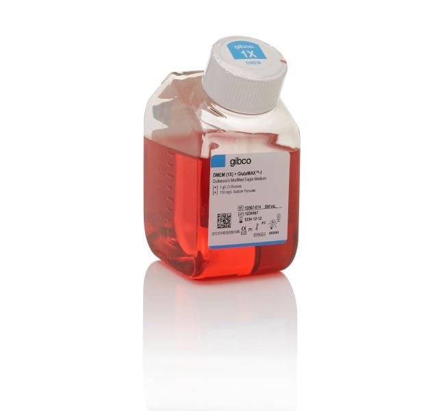 GibcoDMEM, low glucose, GlutaMAX Supplement, pyruvate 10 x 500mL:Cell Culture