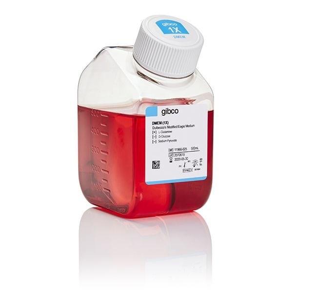 Gibco™DMEM, no glucose 500ml Klassische flüssige Zellkulturmedien