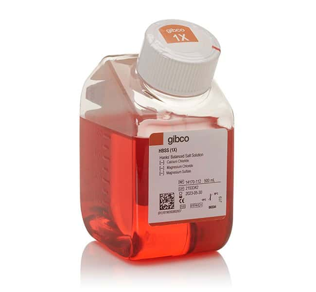 Gibco™HBSS, no calcium, no magnesium 500ml Gibco™HBSS, no calcium, no magnesium