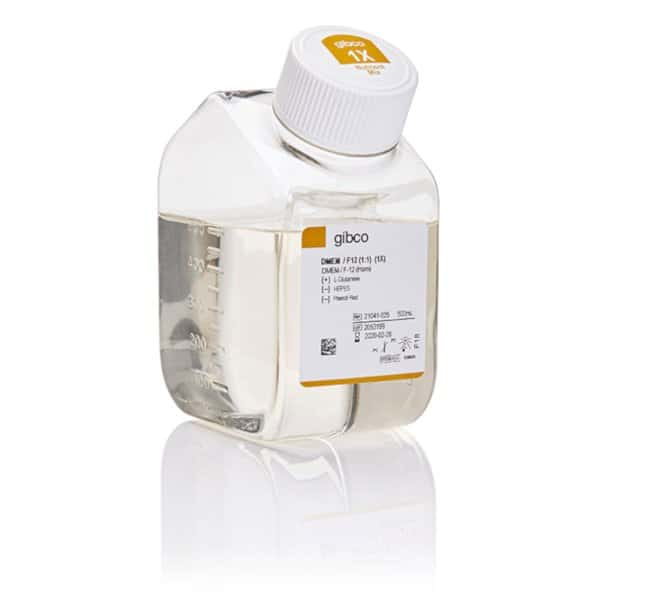 Gibco™DMEM/F-12, no phenol red 500ml Klassische flüssige Zellkulturmedien