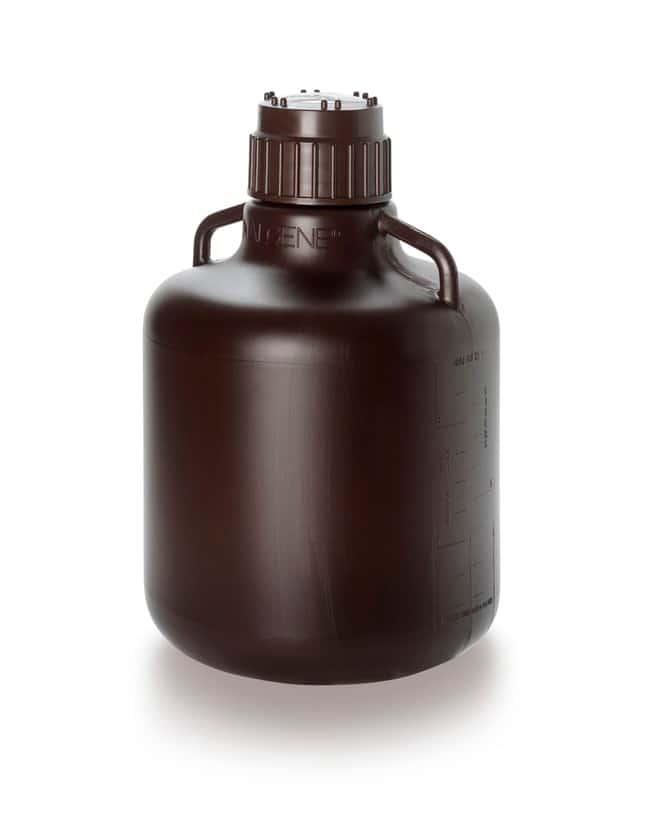 Thermo Scientific™ Nalgene™ HDPE, Amber Carboy