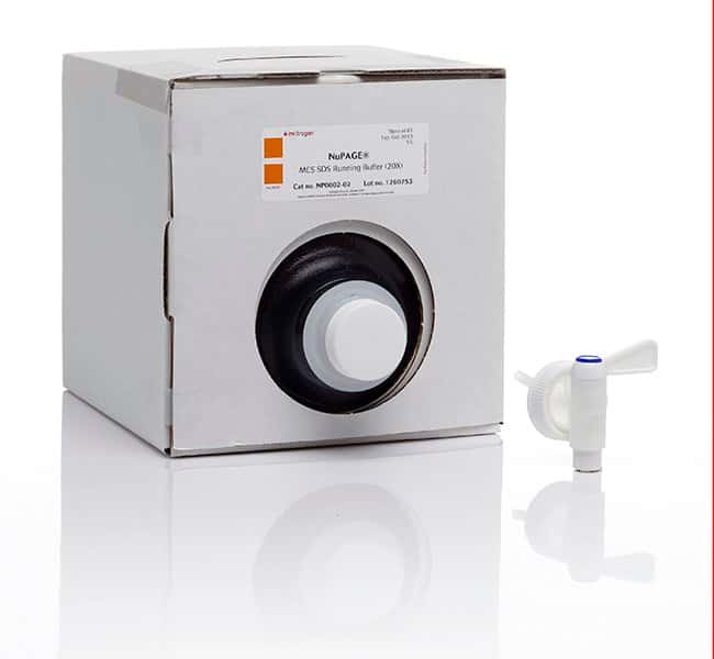 Invitrogen™NuPAGE™ MES SDS Running Buffer (20X): ELISA Reagents ELISA Reagents, Plates and Accessories