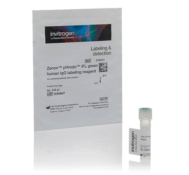Invitrogen™Zenon™ pHrodo™ iFL IgG Labeling Reagents Red Human Invitrogen™Zenon™ pHrodo™ iFL IgG Labeling Reagents