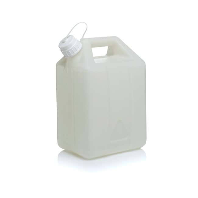 Thermo Scientific™ Nalgene™ Fluorinated HDPE, Jerry Can with Closure 10 L Thermo Scientific™ Nalgene™ Fluorinated HDPE, Jerry Can with Closure