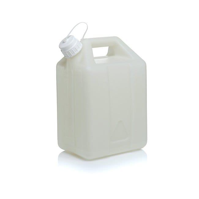 Thermo Scientific™Nalgene™ Fluorinated HDPE, Jerry Can with Closure 10 L Thermo Scientific™Nalgene™ Fluorinated HDPE, Jerry Can with Closure