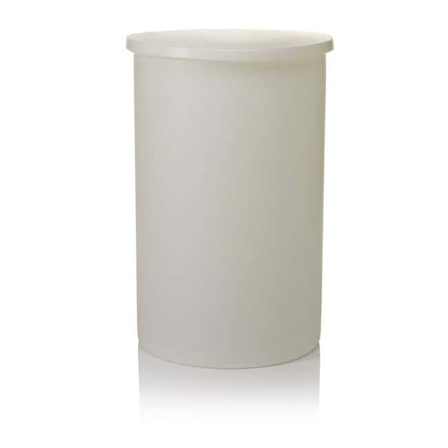 Thermo Scientific™Nalgene™ Lightweight Graduated Cylindrical LLDPE Tank with Cover: Tanks Carboys, Jars, and Liquid Storage