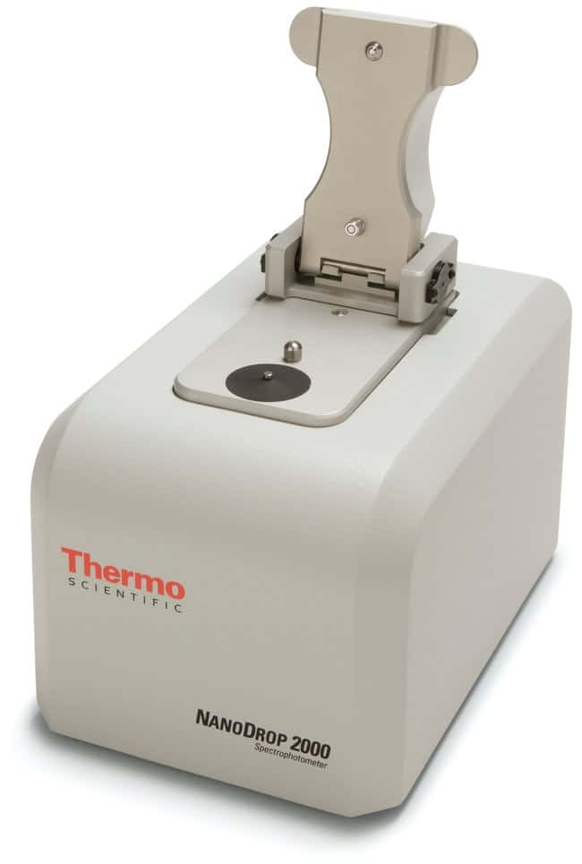 Thermo Scientific NanoDrop 2000/2000c Spectrophotometers  NanoDrop 2000