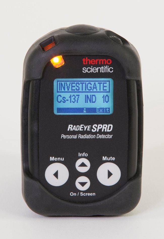 RadEye SPRD Personal Radiation Detector  :Testing and Filtration