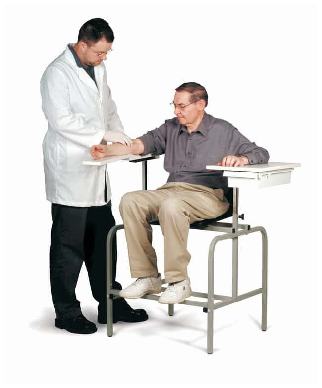 Nice 3B Scientific™ Standard Blood Drawing Chair With Drawer ...