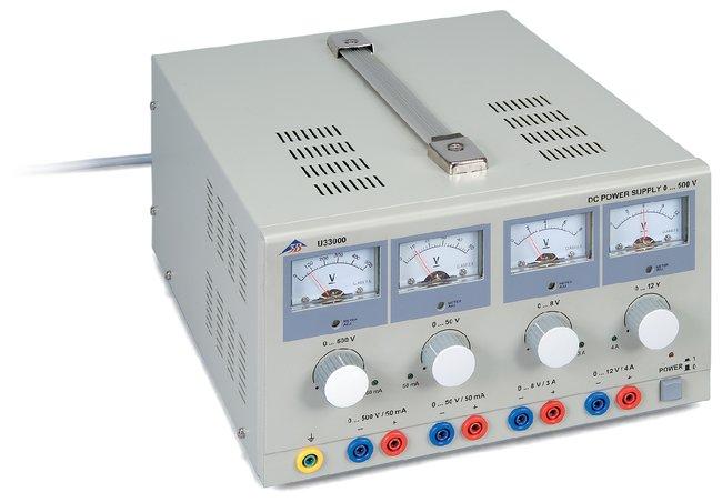 3B Scientific DC Power Supply 0500V  DC Power Supply 0-500V:Teaching Supplies
