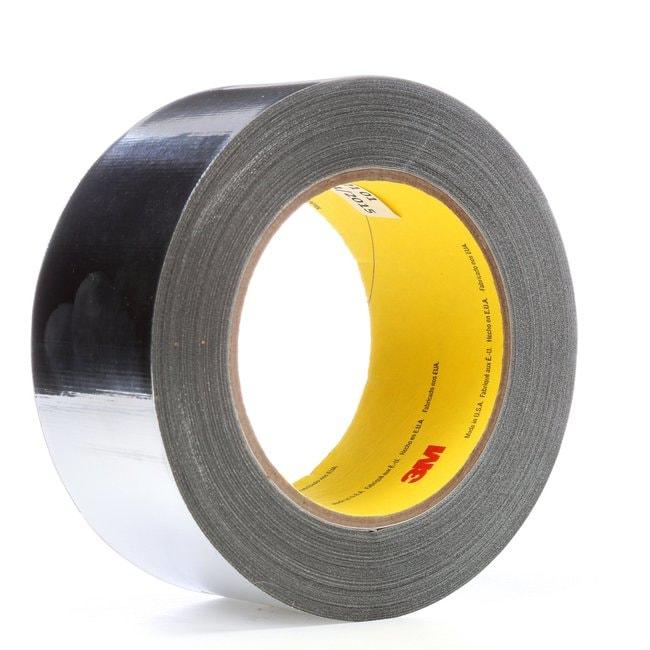 3M Company High Temperature Aluminum Foil/Glass Cloth Tape High Temperature