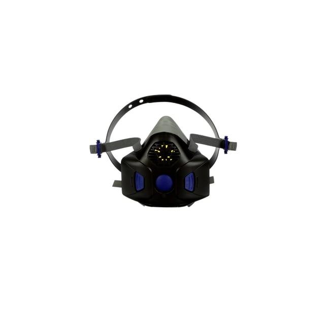 3M Secure Click Half Facepiece Reusable Respirator Small:Gloves, Glasses