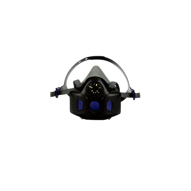 3M Secure Click Half Facepiece Reusable Respirator Medium:Gloves, Glasses