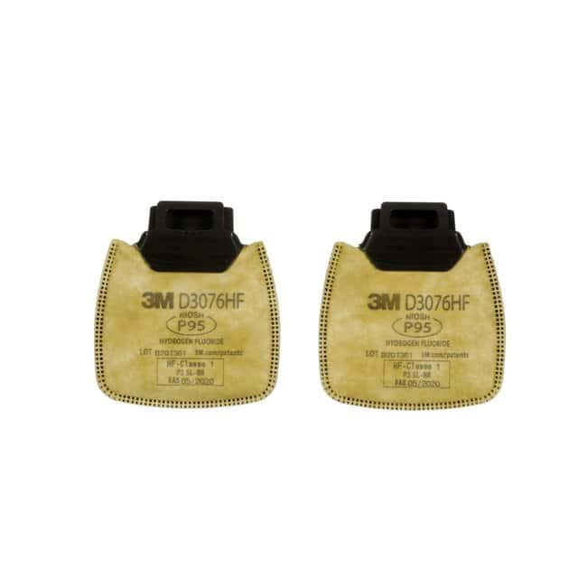 3M Secure Click Nuisance Level Cartridges and Filters Yellow, P95, D3076HF:Gloves,