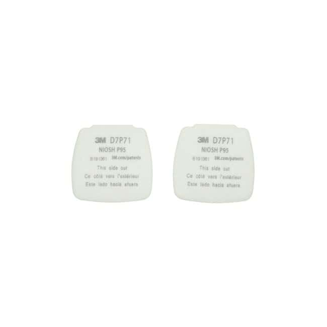 3M Secure Click Particulate Filters P95 Filter:Gloves, Glasses and Safety
