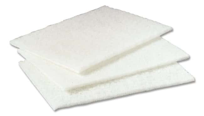3M Scotch-Brite Light Duty Cleansing Pad Material: Fiber, Mineral, Resin:Gloves,