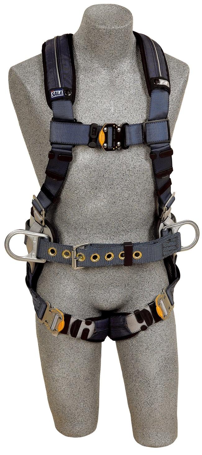3M DBI-SALA ExoFit XP Construction Style Positioning Harness Size: Large,