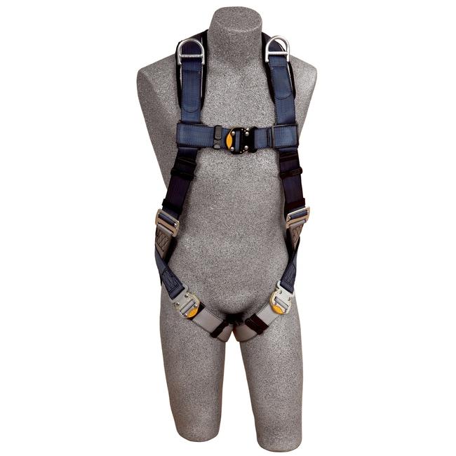 3M DBI-SALA ExoFit Vest-Style Retrieval Harness Buckle: Tongue Buckle;
