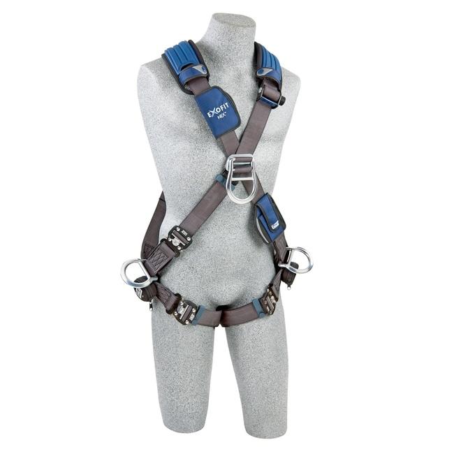 3M DBI-SALA ExoFit NEX Cross-Over Style Positioning/Climbing Harness:Gloves,