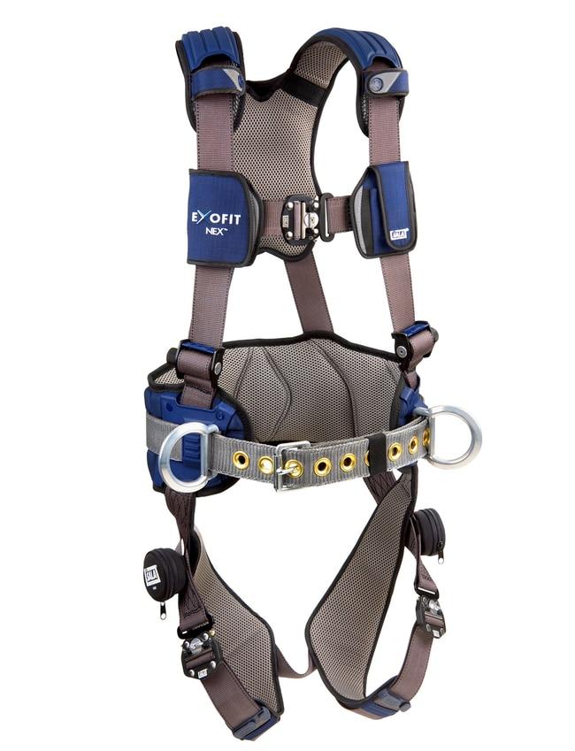 3M DBI-SALA ExoFit NEX Construction Style Positioning Harness Size: X-Large:Gloves,