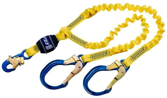 3M DBI-SALA EZ-Stop Double-Leg 100% Tie-Off Shock Absorbing Lanyard CertificationsCompliance: