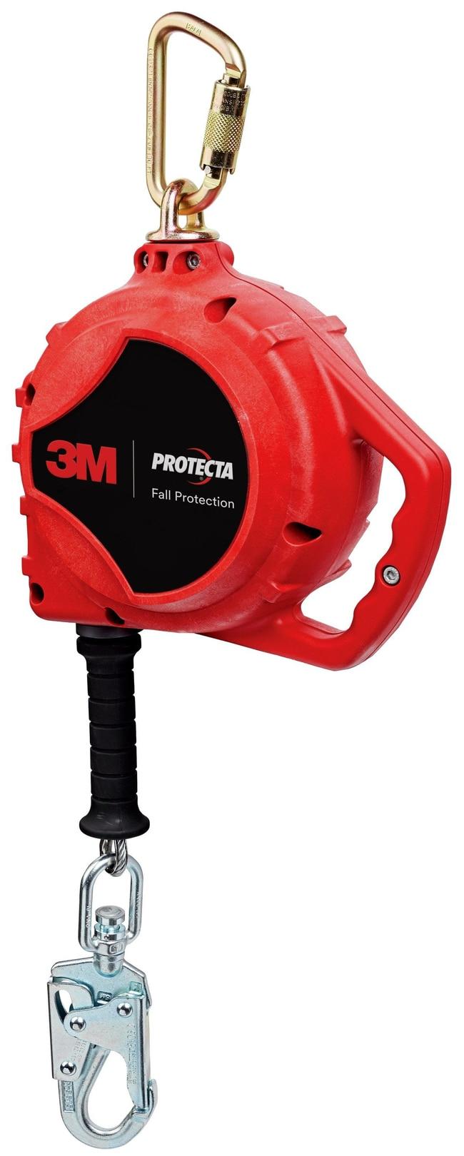 3M PROTECTA Rebel Self Retracting Lifeline - Cable Length English: 33 ft.,