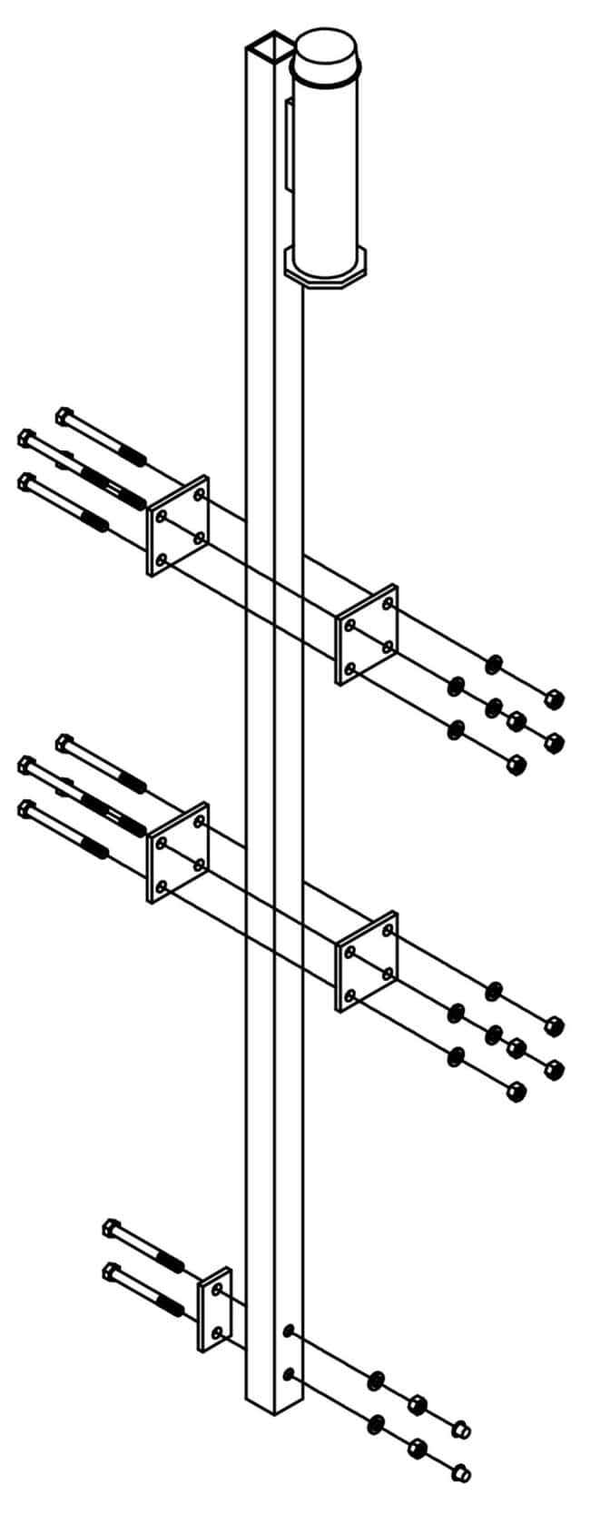 3M™DBI-SALA™ Lad-Saf™ Bracket