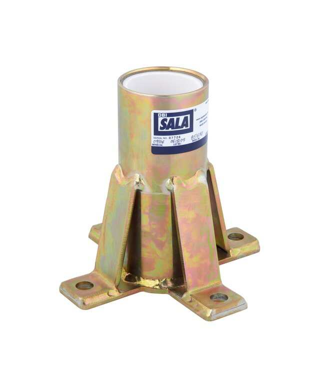 3M DBI-SALA Advanced Floor Mount Sleeve Davit Base CertificationsCompliance: