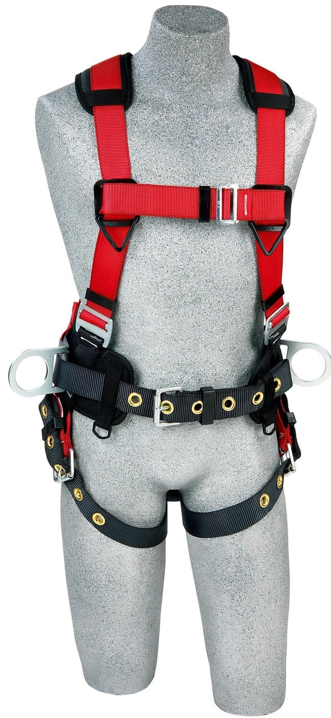 3M PROTECTA PRO Construction Style Positioning Harness Size: X-Large:Gloves,