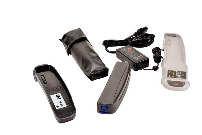 3M Breathe Easy Battery Adapter Upgrade Kit Quantity: 1:Gloves, Glasses