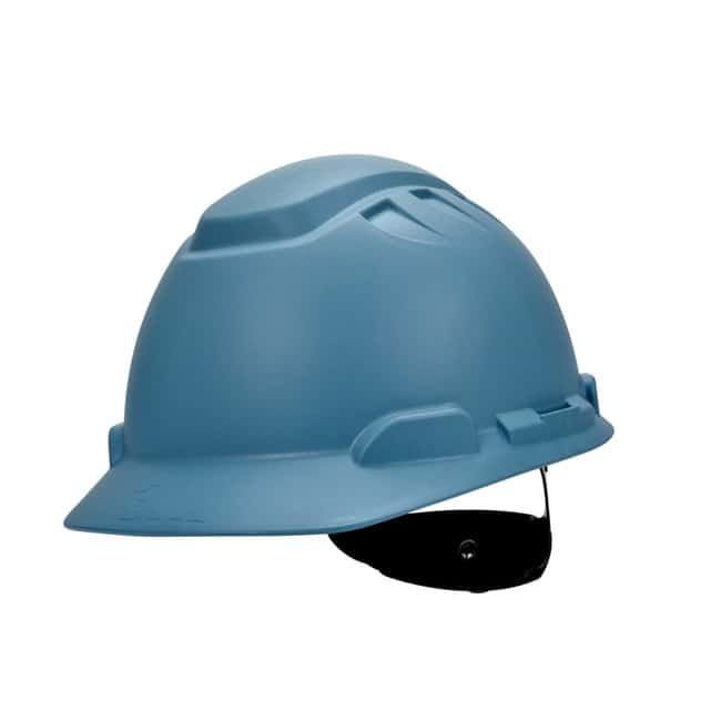3M Elevated Temperature Hard Hat Color: Light Blue:Gloves, Glasses and