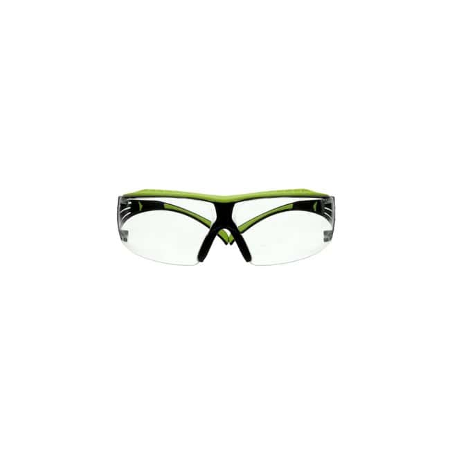 3M SecureFit 400 Series Safety Glasses Frame Color: Black and Green:Gloves,