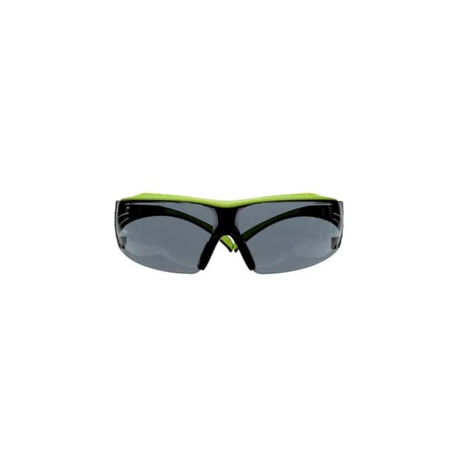 3M SecureFit 400 Series Safety Glasses Frame Color: Black and Green:Gloves,