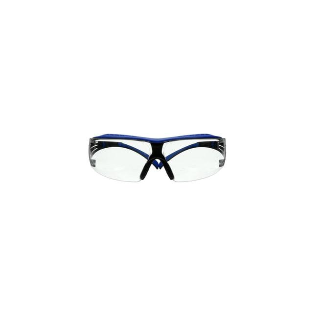 3M SecureFit 400 Series Safety Glasses Frame Color: Grey and Blue:Gloves,