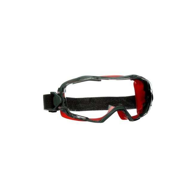 3M GoggleGear 6000 Series Scotchgard Goggles Headband: Nylon; Lens tint: