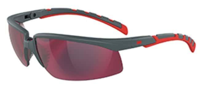 3M Solus 2000 Series Protective Eyewear Lens Tint: Red, Mirror, Lens Type: