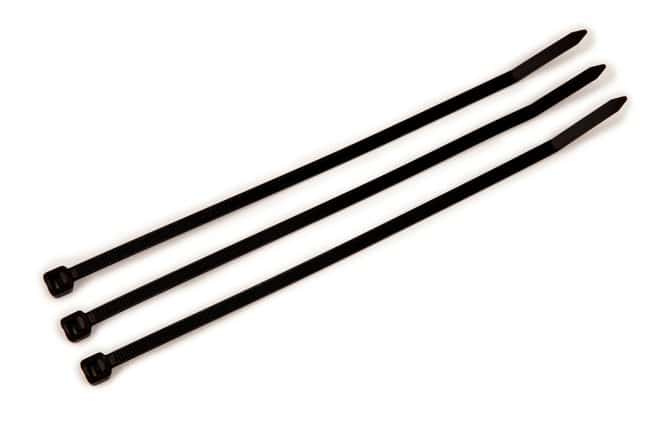 3M Light Heavy Duty Cable Ties (120lb, 530N) UL Listed TYPE 21 Black; Length: