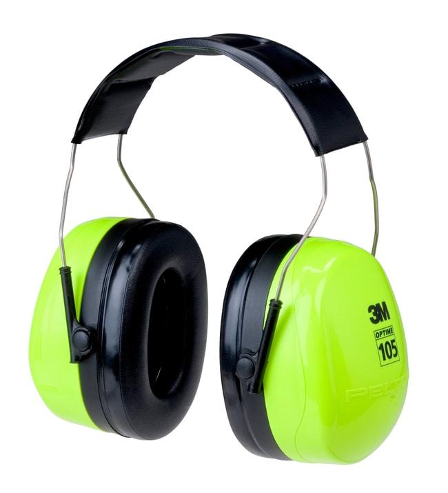 3MPELTOR Optime 105 Over-the-Head Ear Muffs Peltor H10A-HV, high-visibility