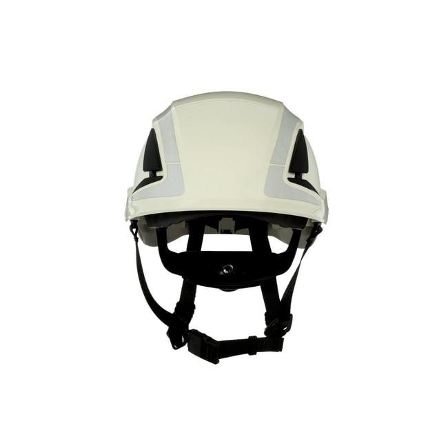 3M SecureFit Safety Helmet White; Ventilated: No; Qty: 4 / case:First Responder