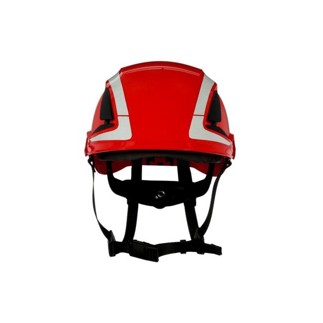 3M SecureFit Safety Helmet Red; Ventilated: No; Qty: 4 / case:First Responder