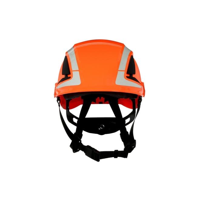 3M SecureFit Safety Helmet Orange; Ventilated: No; Qty: 4 / case:First