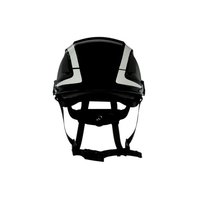 3M SecureFit Safety Helmet Black; Ventilated: No; Qty: 4 / case:First Responder