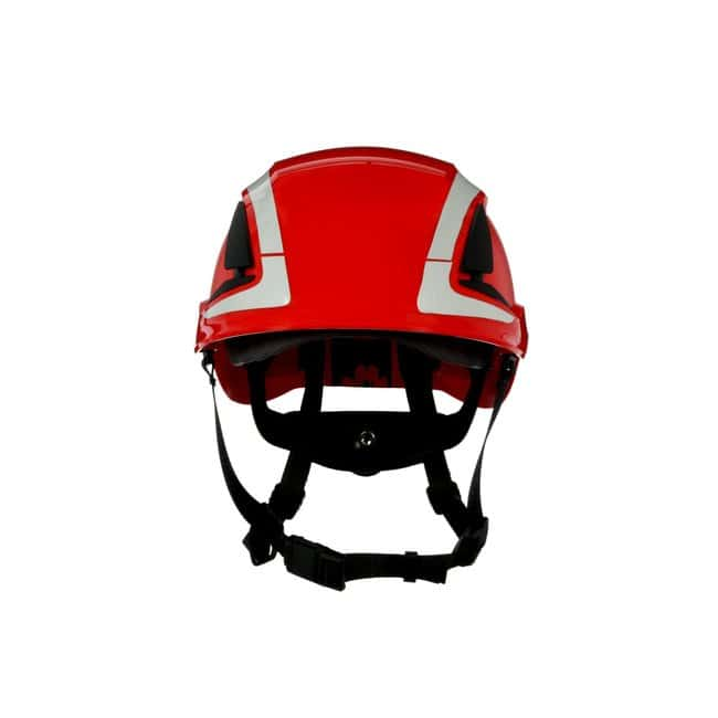 3M SecureFit Safety Helmet Red; Ventilated: Yes; Qty: 4 / case:First Responder
