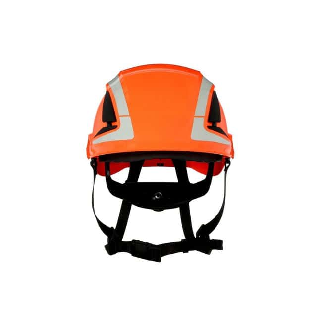3M SecureFit Safety Helmet Orange; Ventilated: Yes; Qty: 4 / case:First