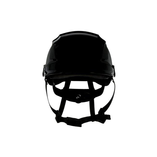 3M SecureFit Safety Helmet Black; Ventilated: No; Qty: 10 / case:First